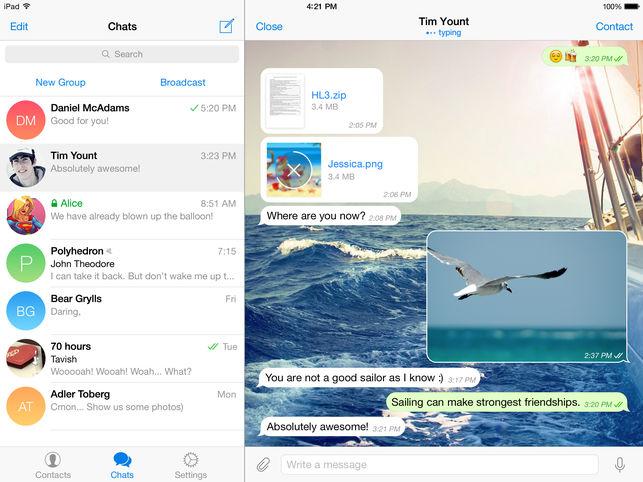 Telegram Messanger: ecco tutte le novità e come scaricarla