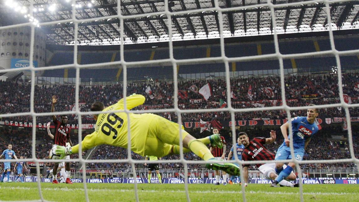 Calcio Napoli, la benzina è finita prima della parata di Donnarumma