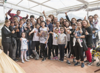 """""""Navigare"""": i bambini oncologici del Pausiliponin barca nel golfo di Napoli"""