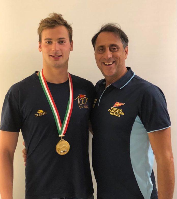 Domenico Acerenza Campione Italiano Assoluto di Nuoto