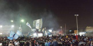 Calcio Napoli, la notte più lunga di una città impazzita di gioia