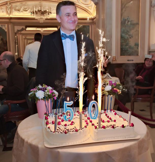 Al Gambrinus la festa per i primi 50 anni di Luca Lupoli