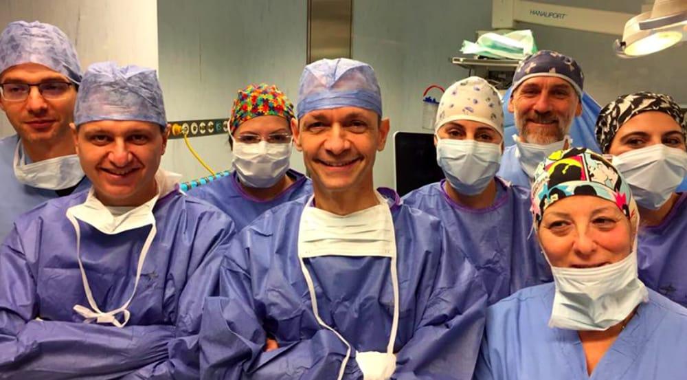 Padova, papà dona 25% del suo fegato: salvo figlio di un anno