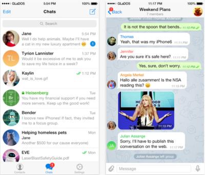 amici di maria 2018 recupero chat cancellate telegram