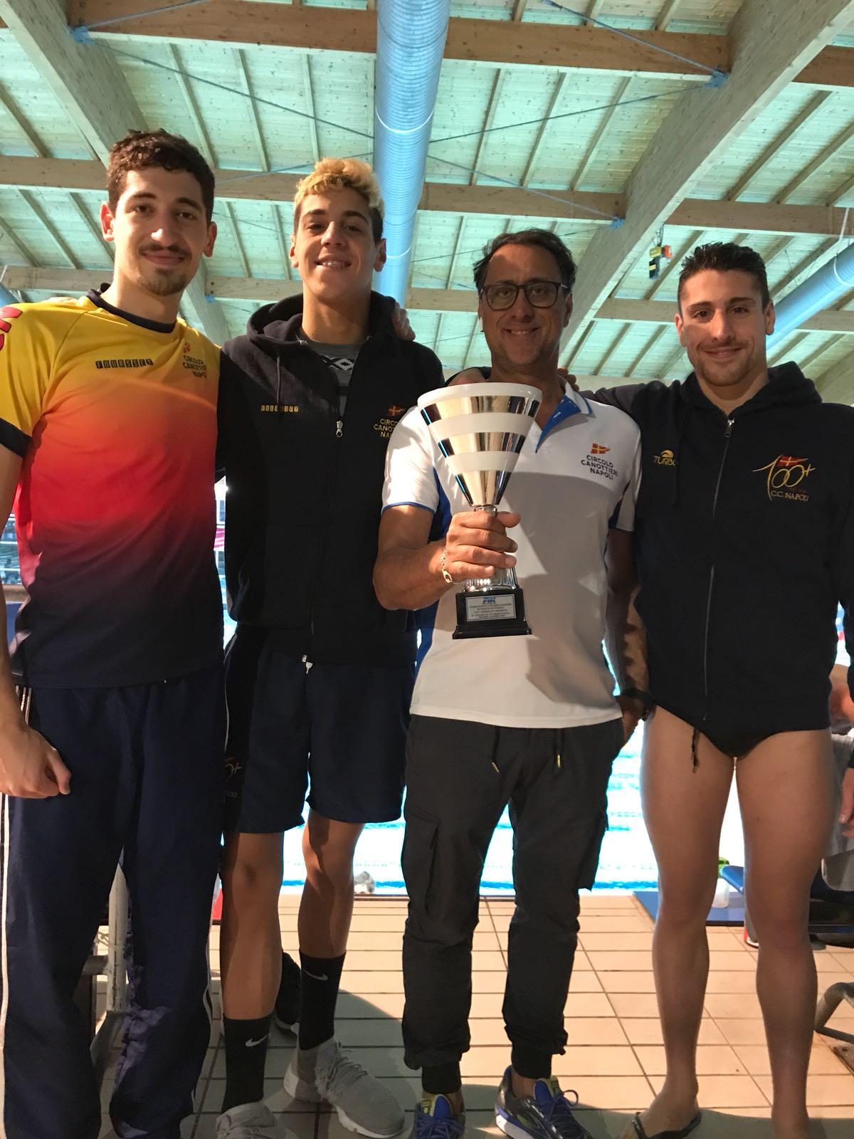 Circolo Canottieri, record e successi agli Assoluti di nuoto a Riccione