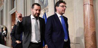 """Consultazioni, Salvini: """"Governo di centrodestra con M5s"""""""