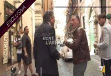 Landolfi schiaffeggia giornalista di Non è L'Arena Danilo Lupo