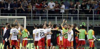 Benevento, i sanniti retrocedono in Serie B con grande onore