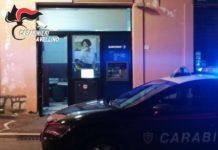 Serino, furto con esplosivo al bancomat: bottino di circa 4mila euro