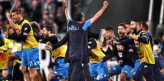 """Calcio Napoli, Sarri: """"Stupendo"""", Insigne: """"Avanti così"""""""