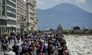 Napoli, ancora boom del turismo per i Ponti di primavera