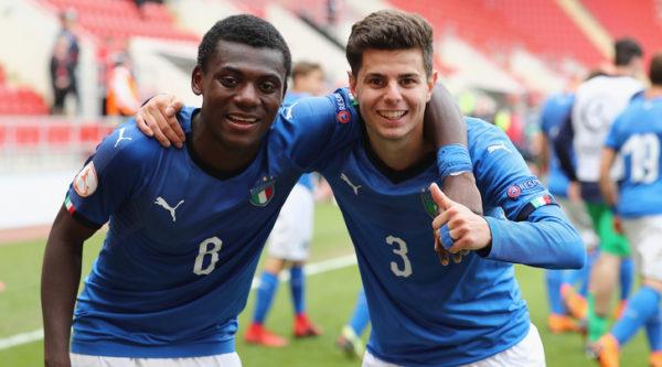 Europeo Under 17: Italia in finale dopo la vittoria sul Belgio per 2-1