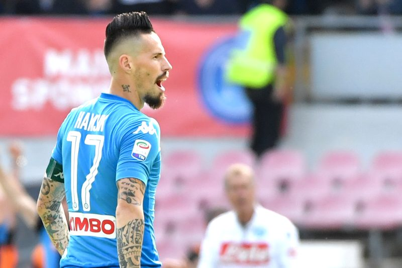 Calciomercato Napoli, al capolinea anche capitan Hamsik?