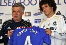 Calciomercato Napoli: Ancelotti vuole David Luiz e un nuovo portiere