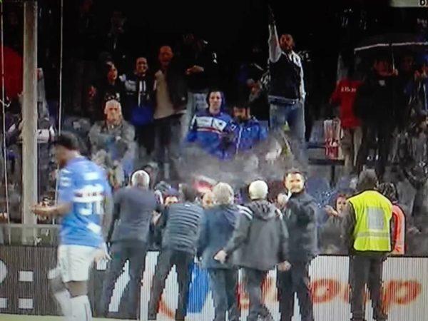 Cori razzisti contro il Napoli: La Samp pagherà solo una multa