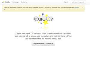 Lavoro, ecco come scaricare un curriculum vitae europeo