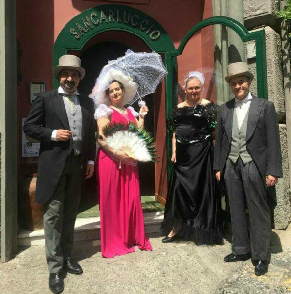 Olga De Maio e Luca Lupoli alSancarluccio nel nome del canto e del Liberty