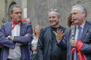 Musicanti, presentato 'mmiezzo 'a via il musical per Pino Daniele
