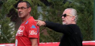 """Sarri: """"Ho saputo di Ancelotti dalla tv, Higuain via per colpa di ADL"""""""