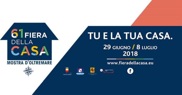 A Napoli dal 29 giugno all'8 luglio la Fiera della Casa 2018