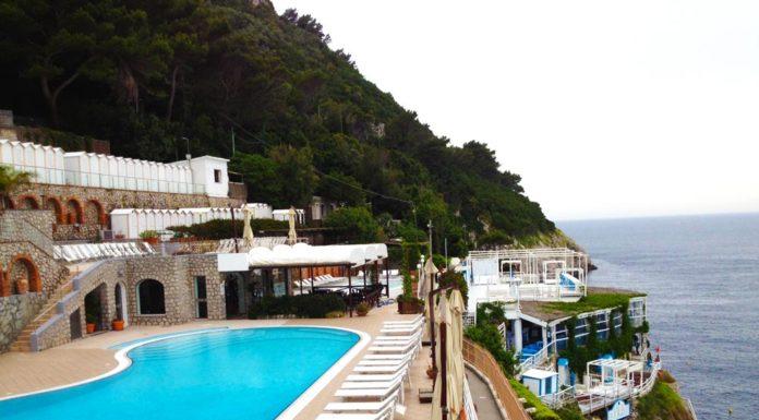 """Capri, sotto sequestro il complesso balneare """"Nettuno"""""""