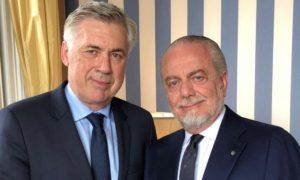 Calcio Napoli: con Ancelotti stessa filosofia societaria.