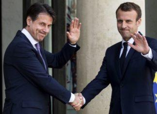 Incontro Conte-Macron a Parigi: cooperazione sui migranti