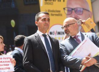 """lezioni Avellino, Di Maio: """"Con Ciampi collegamento diretto col Governo"""""""