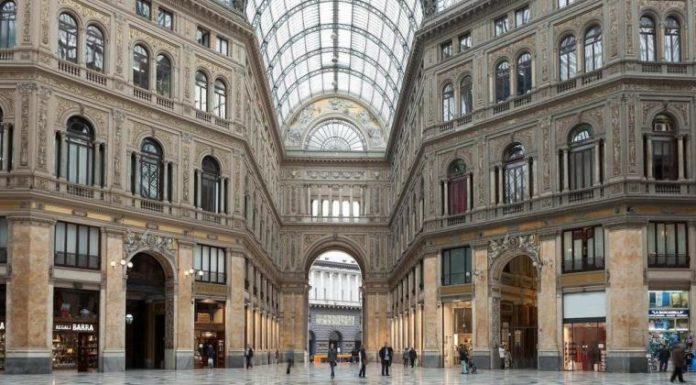 Napoli, allarme bomba nella Galleria Umberto I: arrivano gli artificieri