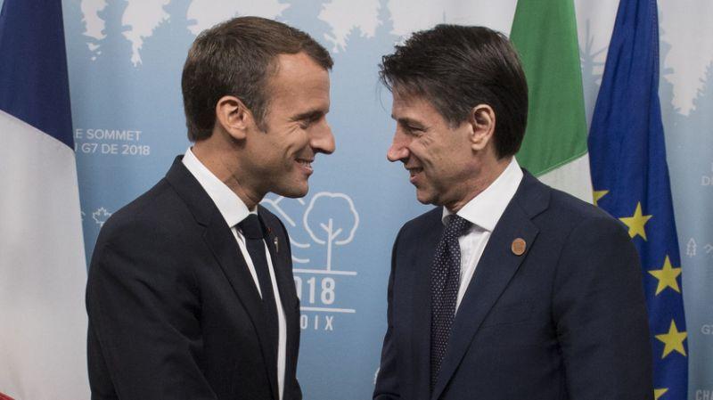 Nave Aquarius Macron chiama Conte rientrata crisi Francia-Italia