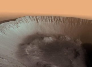 Lo spettacolo di Marte in 3d, tra crateri, tramonti e arcobaleni