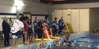Nuoto, stadio militare Albricci: consegnate le borse di studio
