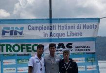 Canottieri Napoli, argento ai Campionati Italiani di Nuoto di Fondo