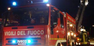 Napoli, domato incendio a Palazzo Maddaloni: nessun ferito