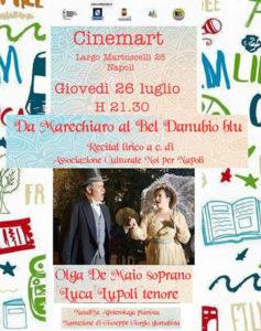 Da Marechiaro al bel Danubio Blu... canzone napoletana e Operetta per Cinemart