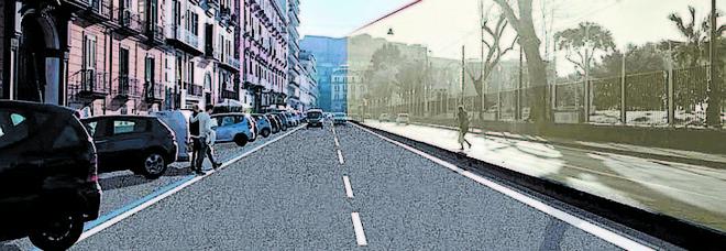 Lavori Riviera di Chiaia, caos fermate bus e traffico. Ecco il nuovo dispositivo