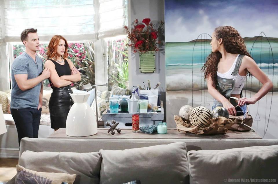 Beautiful anticipazioni, giovedì 19 luglio: Lite tra Sheila e Quinn