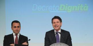 """Conte e Di Maio illustrano il Decreto Dignità: """"Colpo mortale al precariato"""""""