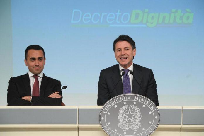 Conte e Di Maio illustrano il Decreto Dignità: