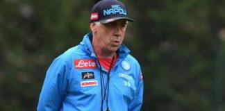 Calcio Napoli, conferenza stampa di Ancelotti