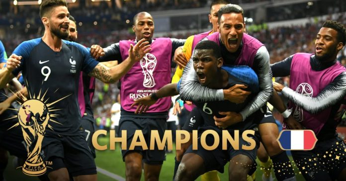 Mondiali 2018: La Francia vince la coppa del Mondo