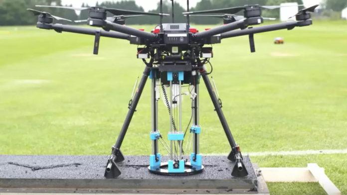 Drone trova e ripara buche. I progetto è dei ricercatori britannici