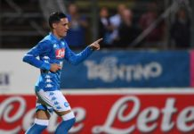 """Calcio Napoli, Callejon: """"Sogniamo tutti lo scudetto"""""""