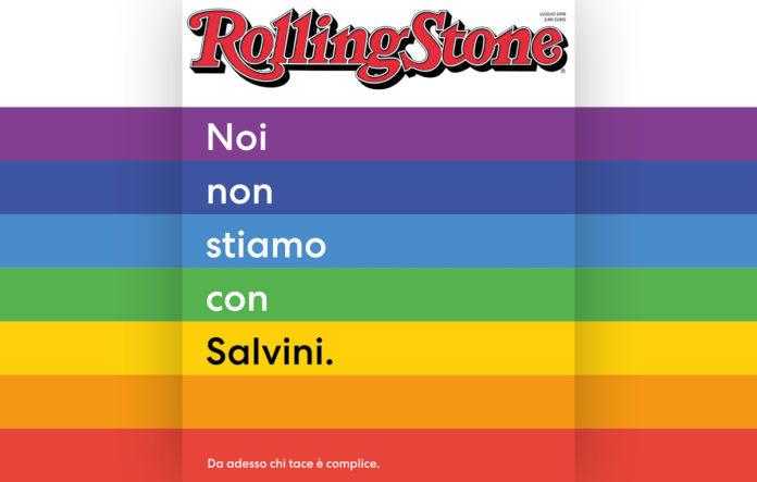 Rolling Stone, nel nuovo numerola copertina è dedicata al vice Premier Matteo Salvini: