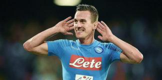 """Calcio Napoli, Milik vuole lo scudetto: """"Juve? Non mi fa paura nessuno!"""""""