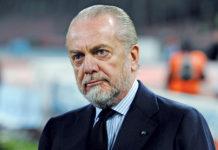 Calcio Napoli, dipendenti in cassa integrazione fino alla ripresa