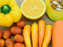 I carotenoidi sono responsabili del colore intenso della pelle