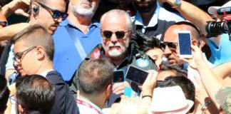 "Calcio Napoli, De Laurentiis: ""Cavani non verrà, Arias ci piace"""