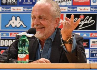"""Calcio Napoli, ADL: """"Di Maria e Benzema vecchi. Cavani? Una bufala"""""""