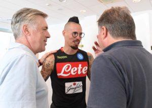 Calcio Napoli, partita l'era Ancelotti: raduno all'hotel Vesuvio